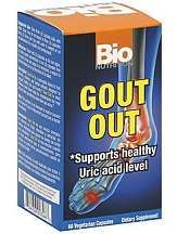 Vitacost Gout Out Review