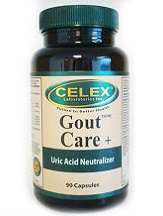 Celex Laboratories Gout Care Review